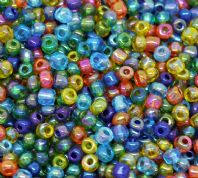 500 gram of 6/0 Mixed AB Color Glass Seed Beads
